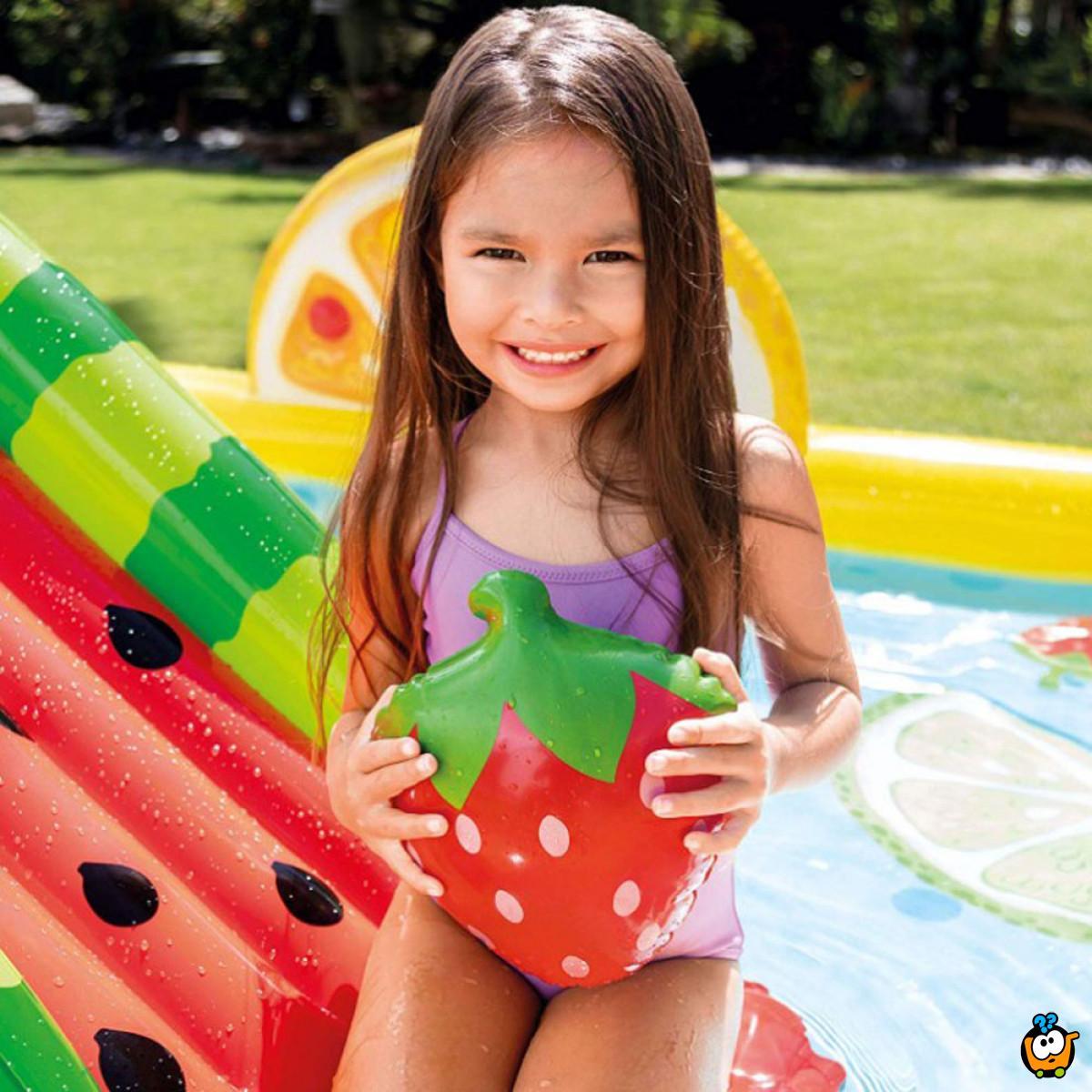 57158NP/EP Fruity Party - Bazen igraonica sa voćnim motivima