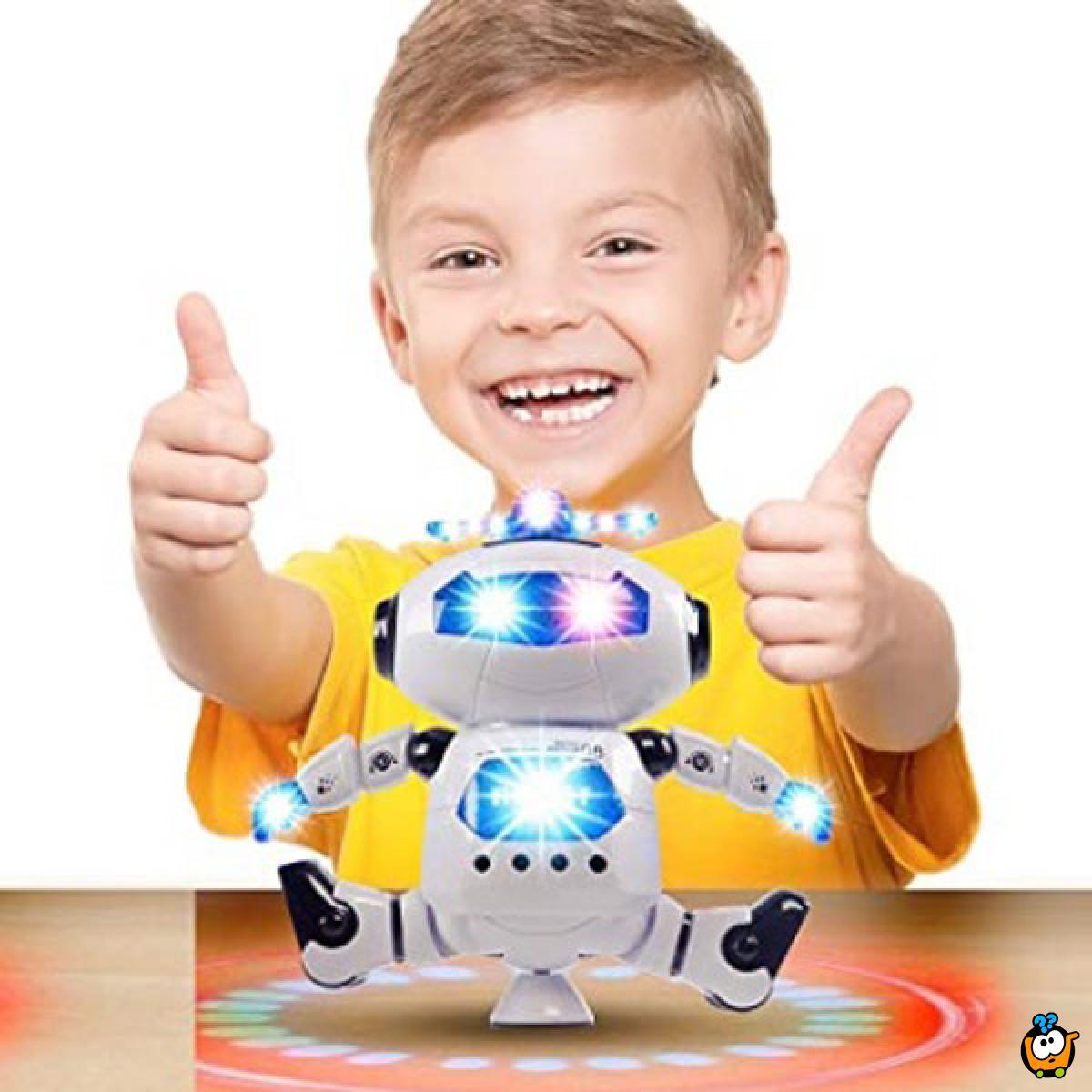 Boy Toymachine - Robot igračka koja se rotira 360 stepeni