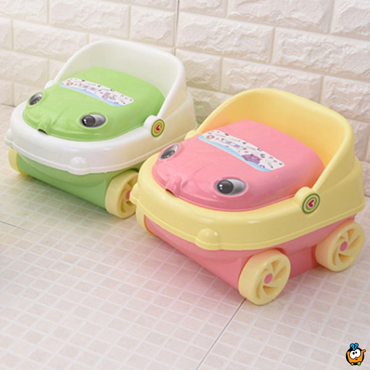 Potty car - Muzička noša u obliku autića