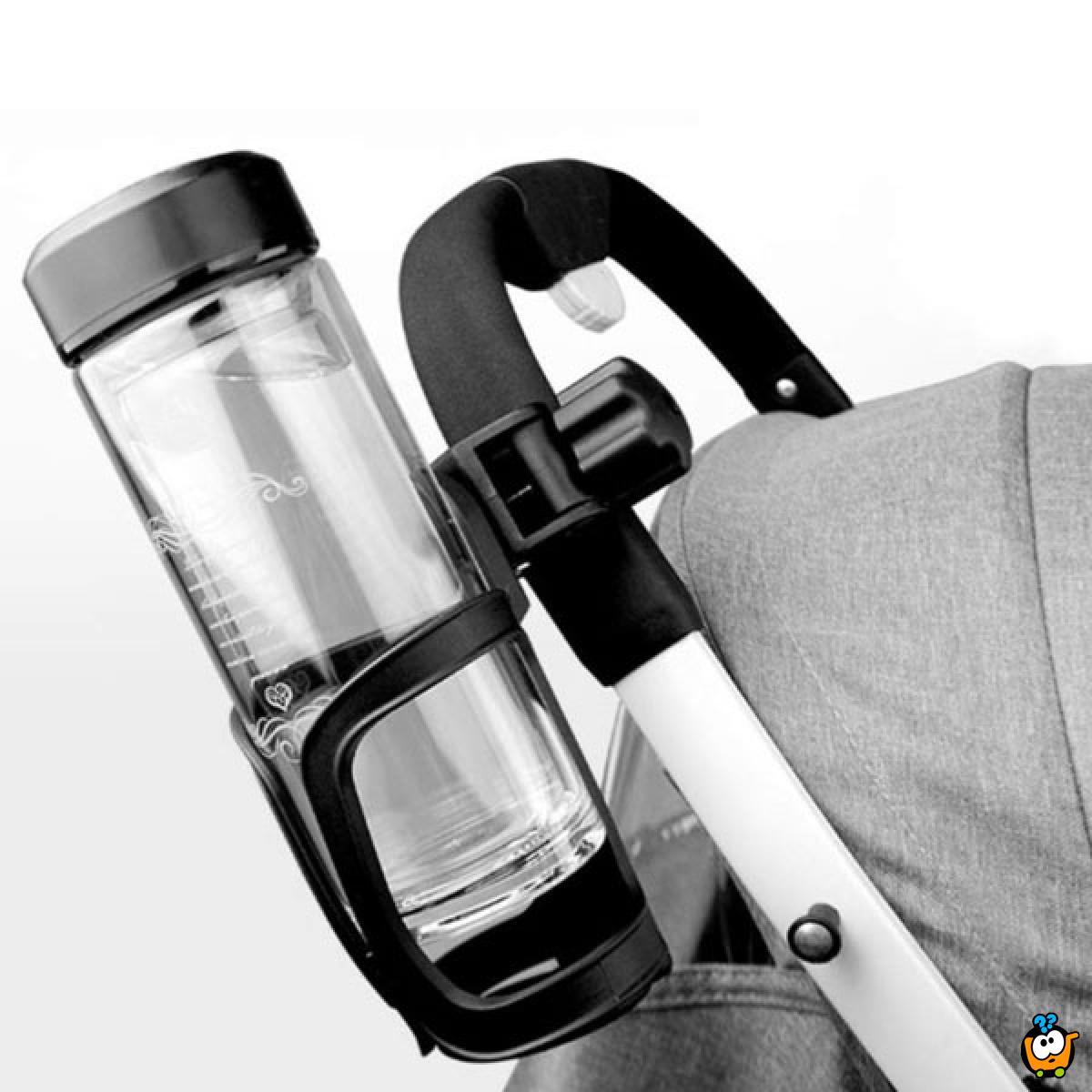 Držač flašica za kolica