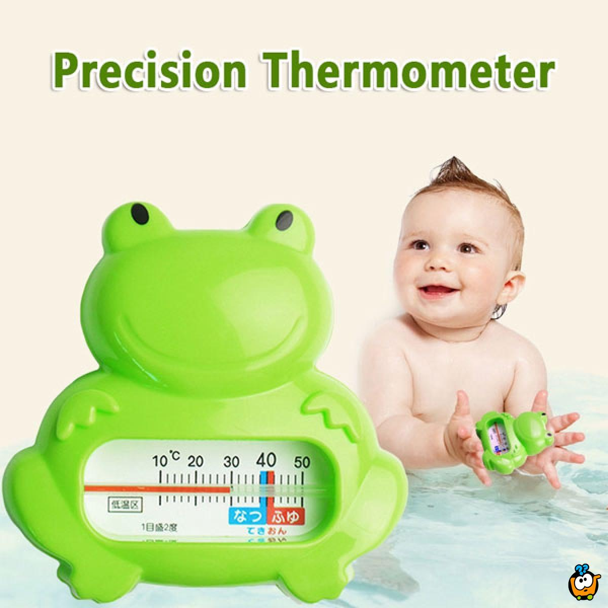 Termometar za vodu u obliku žabice