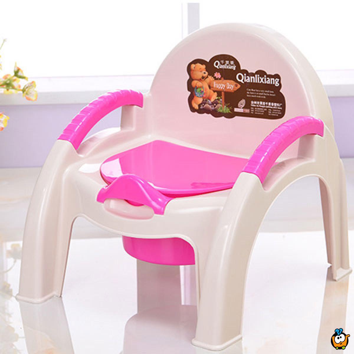 Potty chair - Noša u obliku stolice sa ručkama