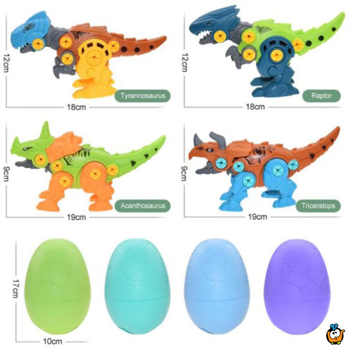 Inženjerski komplet za sklapanje dinosaurusa