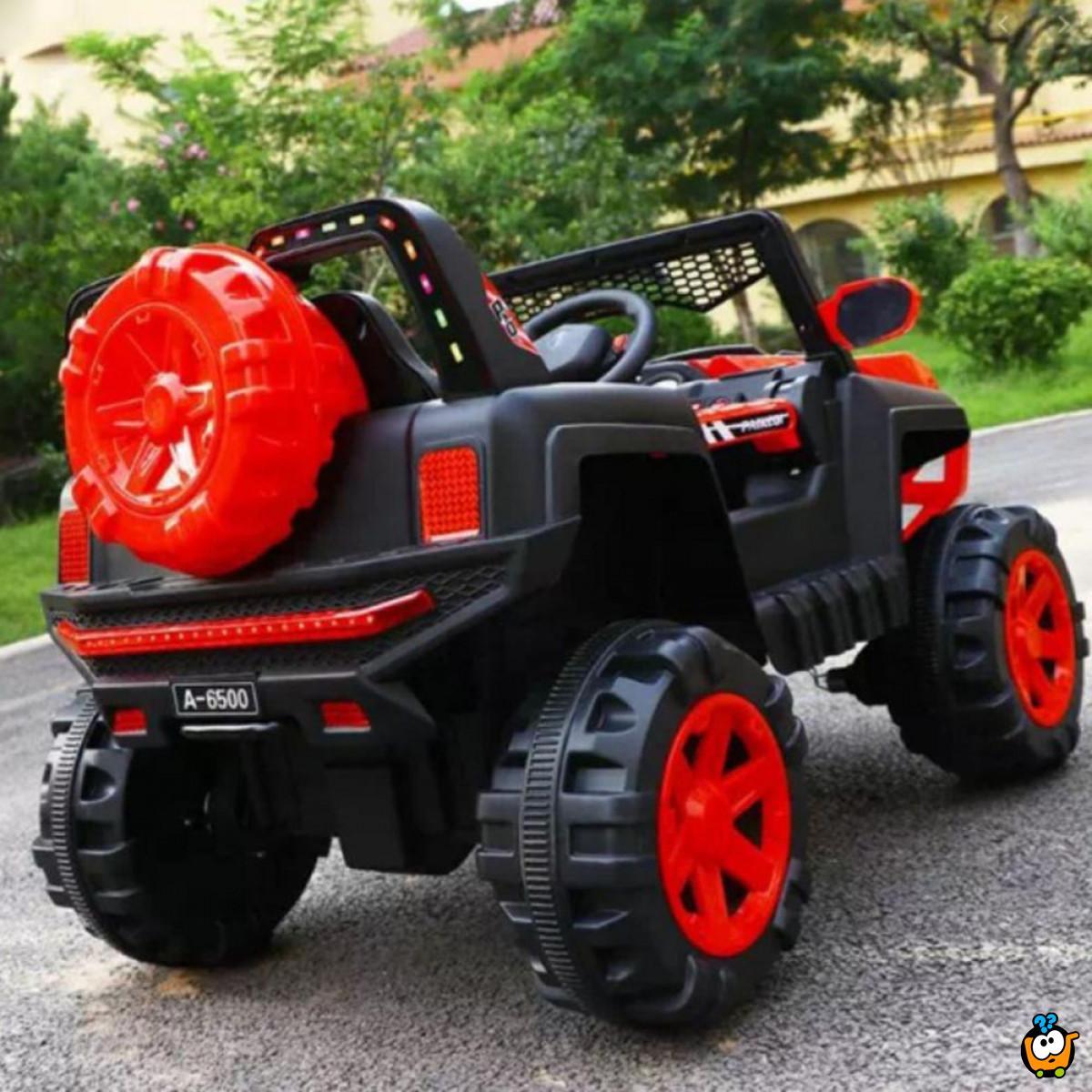 Off road vehicle - Veliko terensko vozilo za ludu vožnju na akumulator