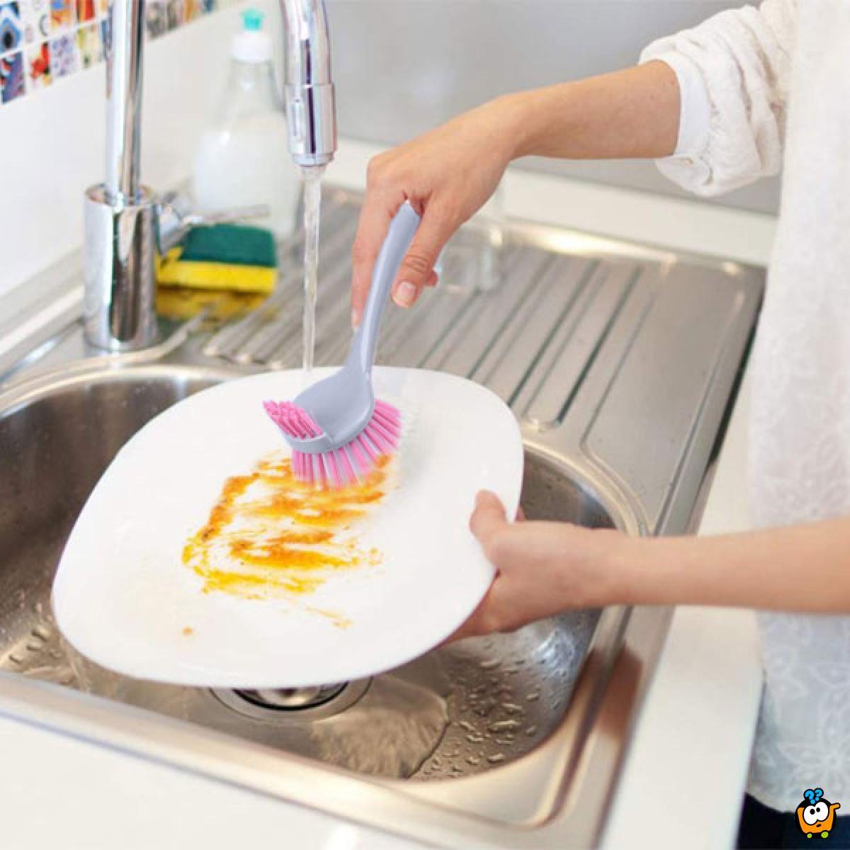 Višenamenska dvostruka četka za pranje posuđa
