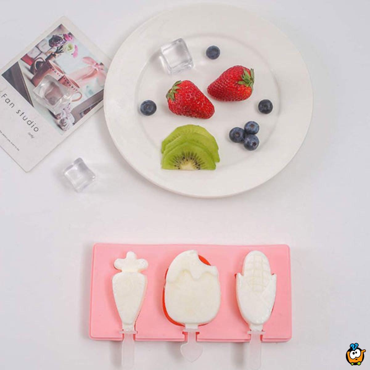 Ice Cream Mold - Kalup za dečije sladolede, ledene kocke i žele