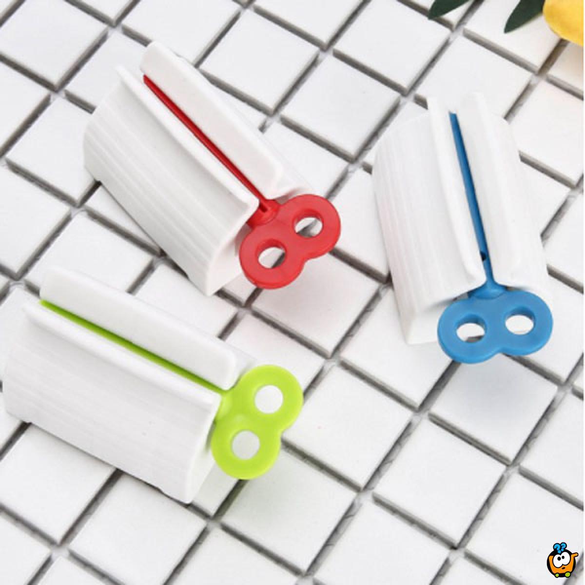 Stiskalica za pastu za zube, kreme i farbe za kosu