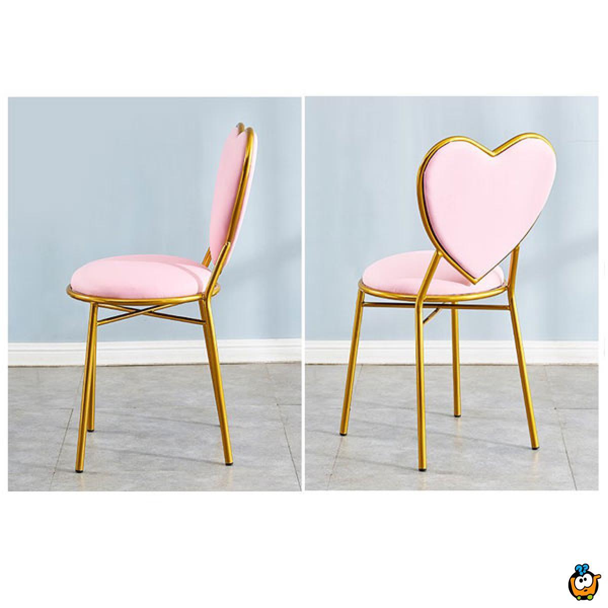HEART DESIGN - Moderna stolica u obliku srca