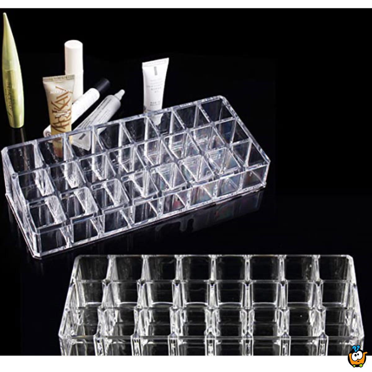 Cosmetic storage box - Kutija organizer za ruževe i lakove