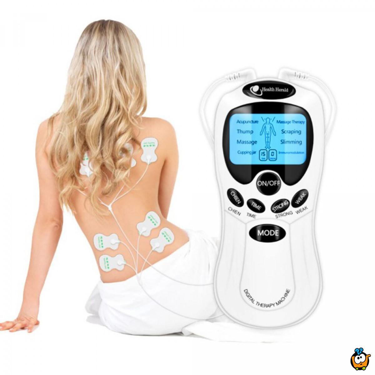 Bio pulsni masažer za ublažavanje bola u vratu i leđima