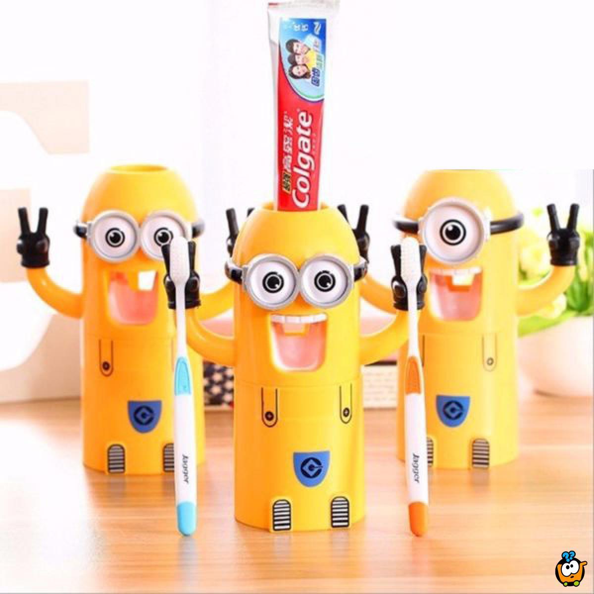 Minion kreativni držač četkica i paste za zube