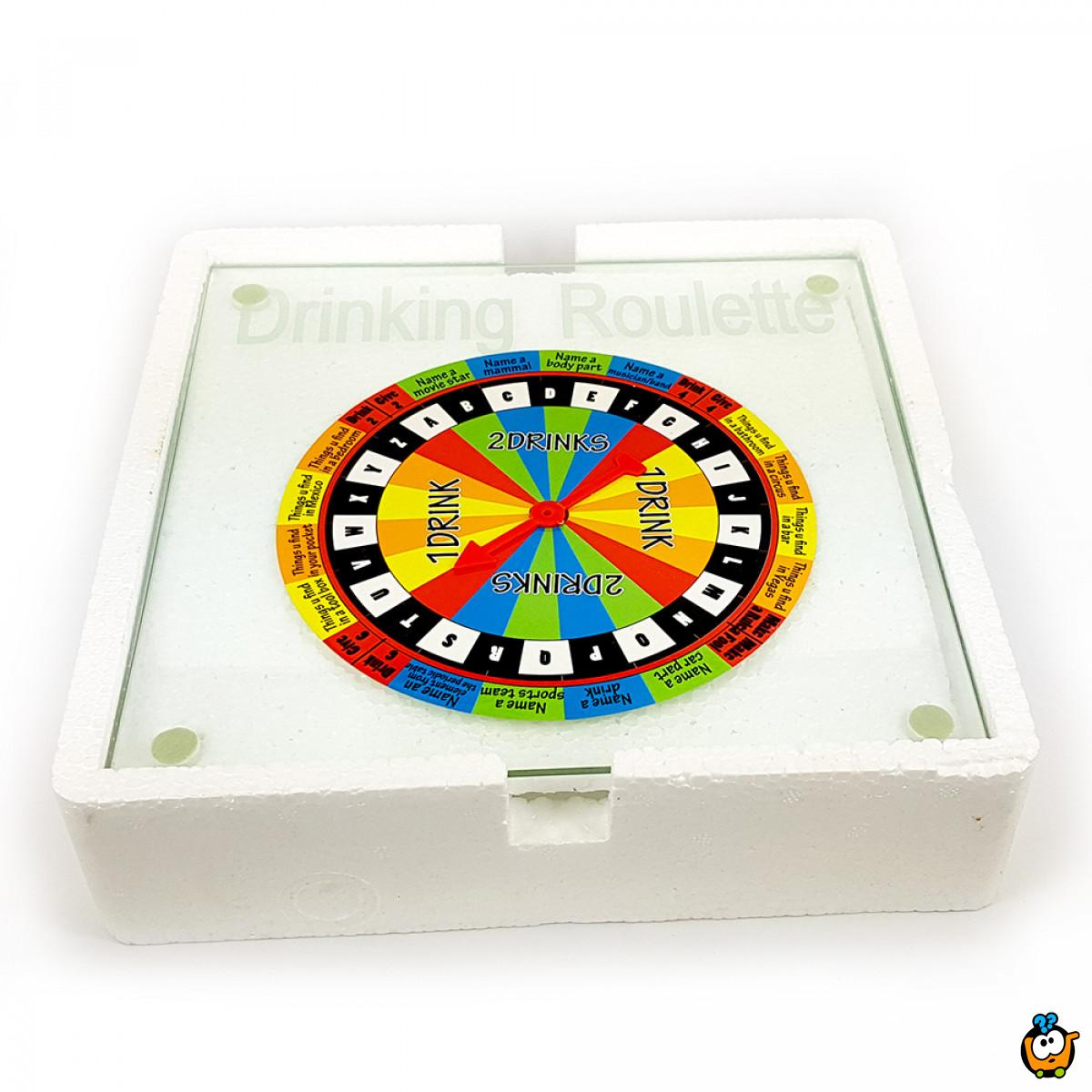 Shout Out Drinking Roulette Set - Pijani rulet