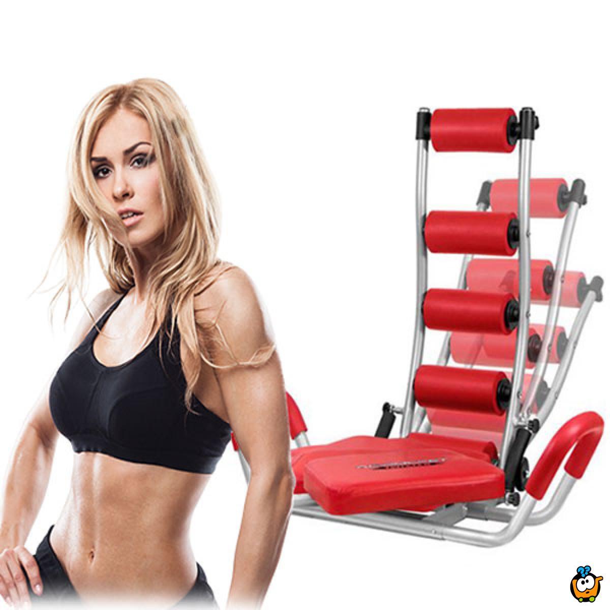AB Rocket Twister - Sprava za vežbanje i oblikovanje stomaka
