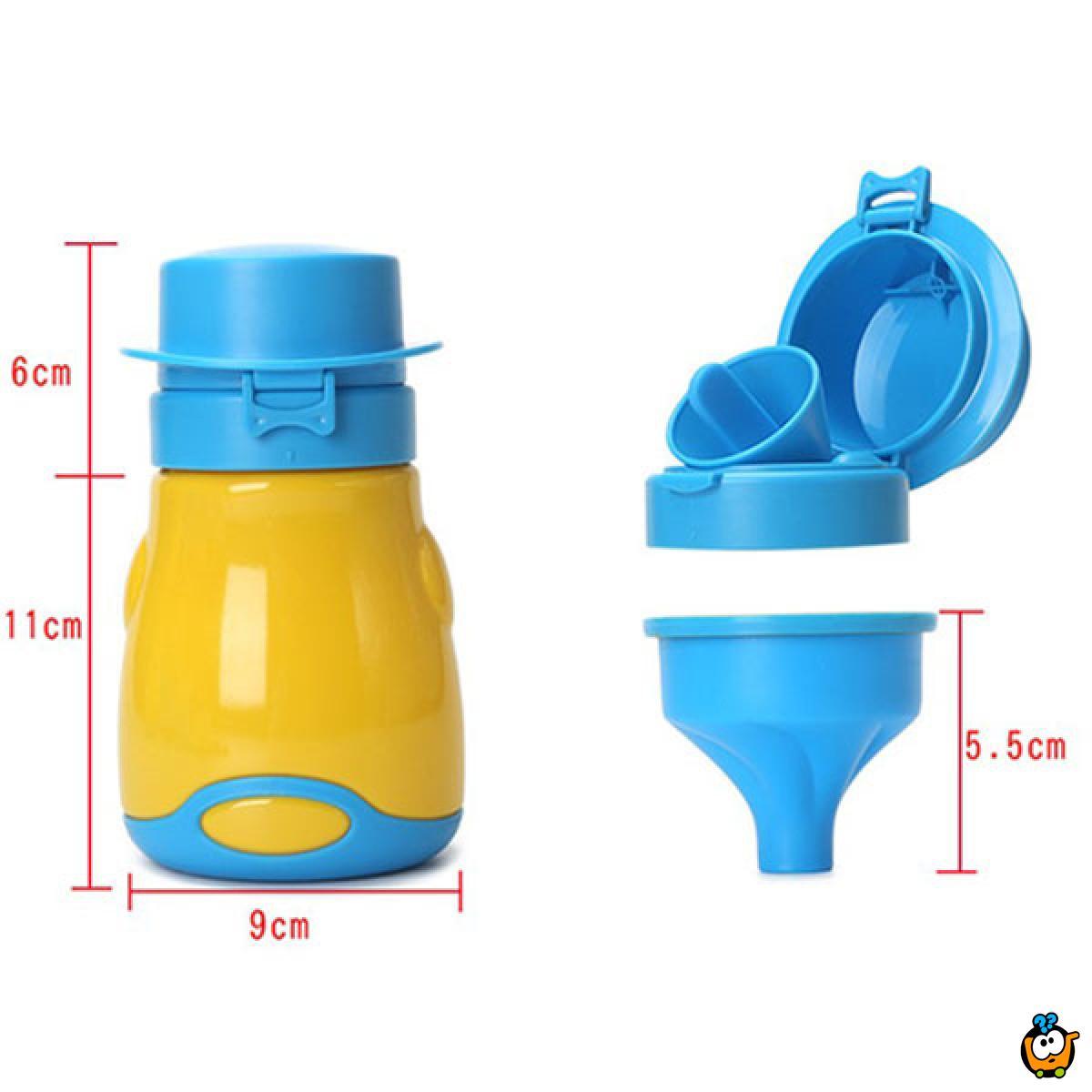 Pee Pot - Prenosiva dečija bočica za mokrenje