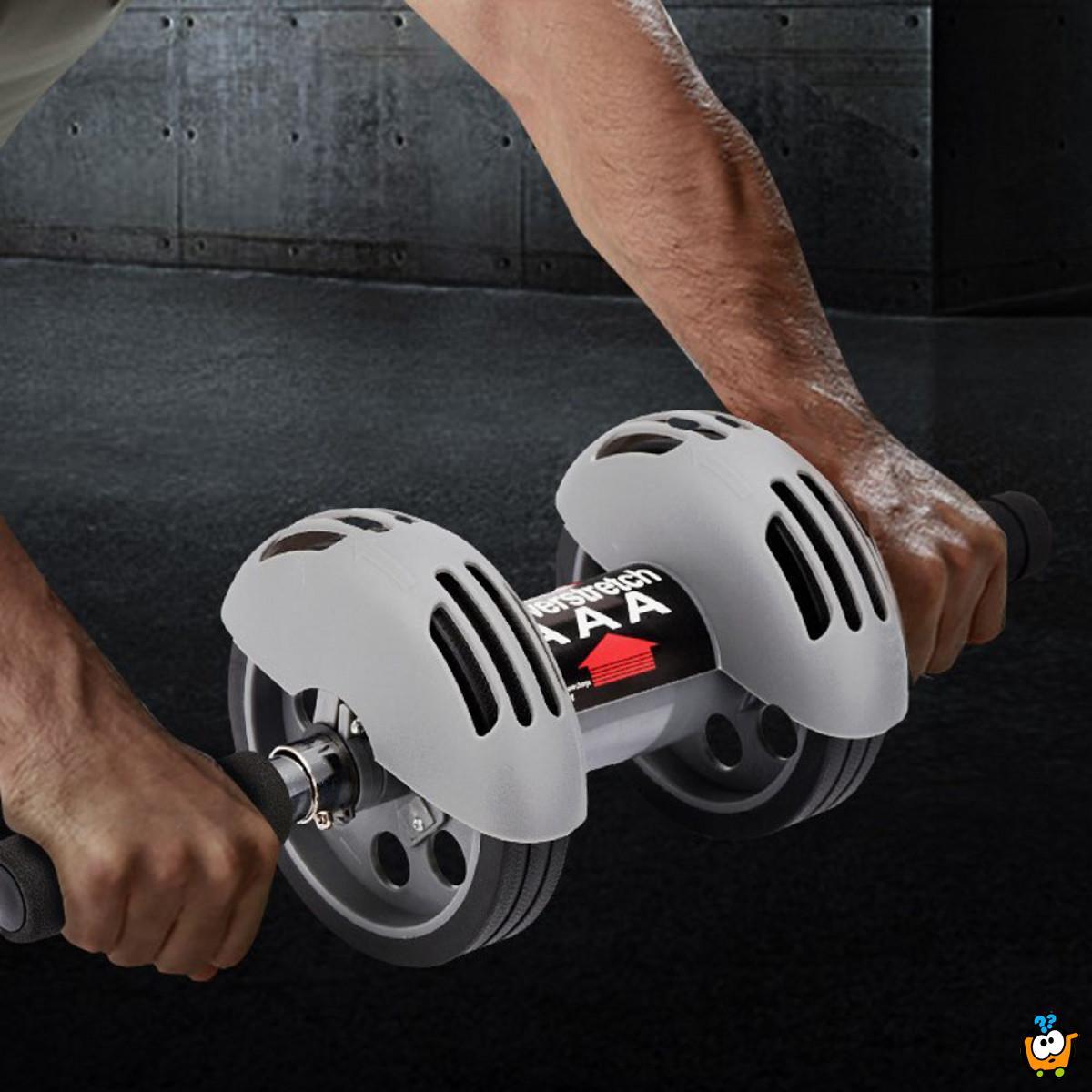 Dvostruki točkovi za vežbanje trbušnih mišića