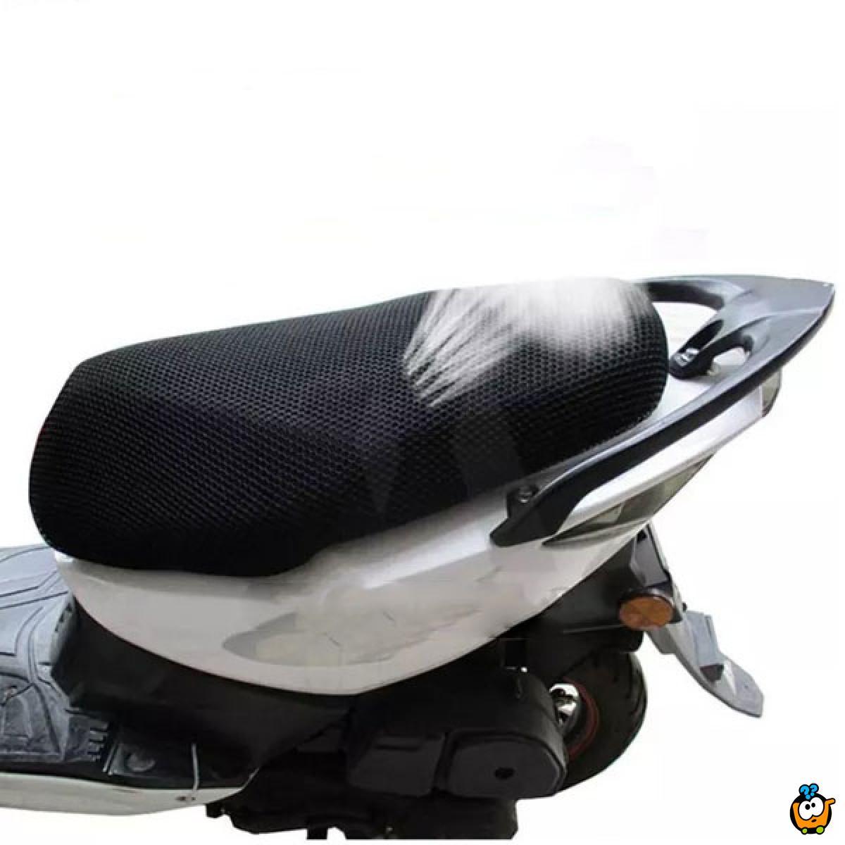 Moto Cover – Prozračna navlaka za sedište motora