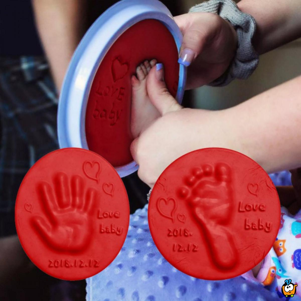 Baby Print - Penasta masa za otisak bebinih šaka i stopala
