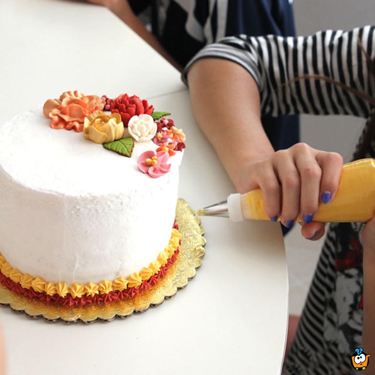 Profesionalni špric za dekoraciju torti i kolača
